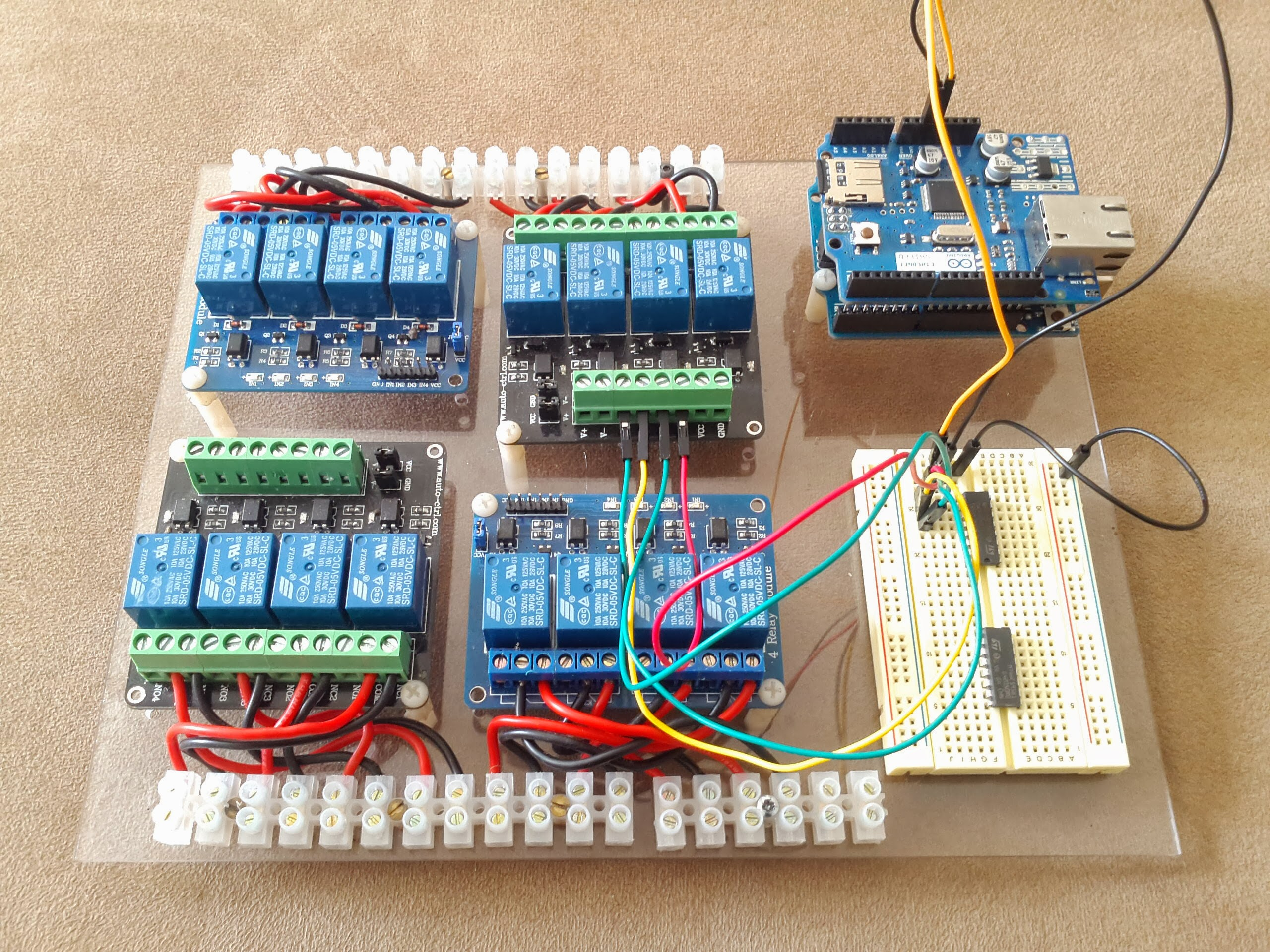 Relay Wiring Arduino 16 Schematic Diagrams Module Not